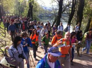 passeggiate social trekking